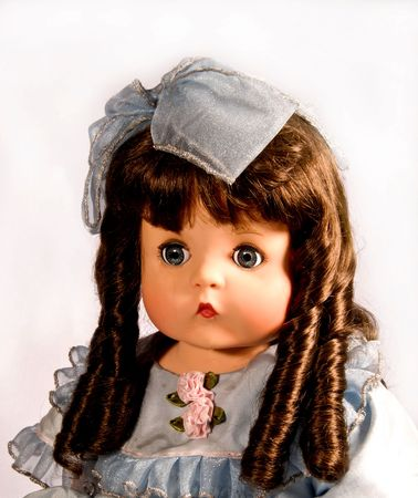 collectable: grandmas old antique doll