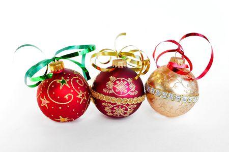 クリスマスの飾りを飾る