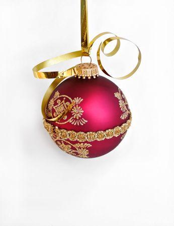 hanging xmas ornament Imagens
