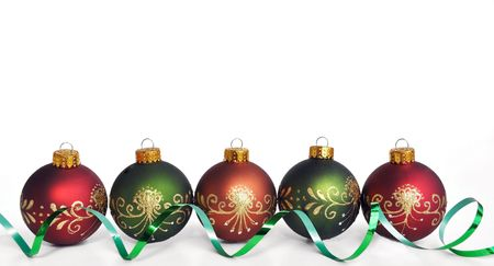 holidays christmas colorful ornaments