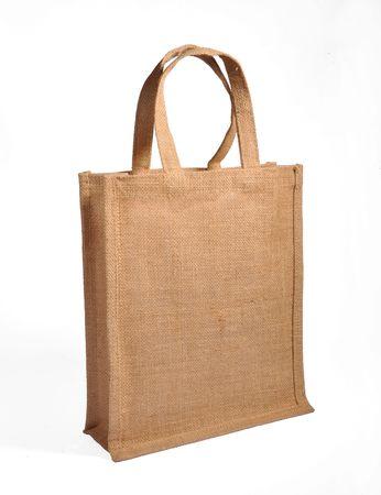 tote: burlap sack