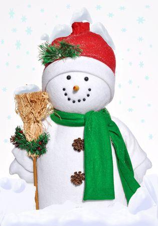 jolly snowman Imagens
