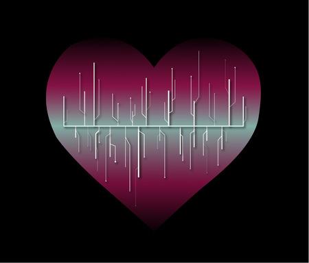 illustrators: digital heart Illustration