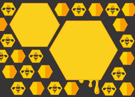 hive: bee hive box background Stock Photo