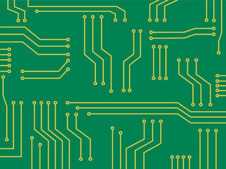 microchip technology cartoon background