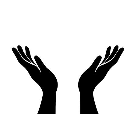 hand art vector Illustration