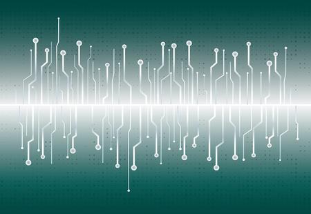 abstract technology background vector illustration Illustration