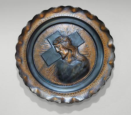 jesus christ Copper Stock Photo