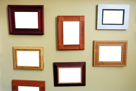 blank Picture Frame Wall