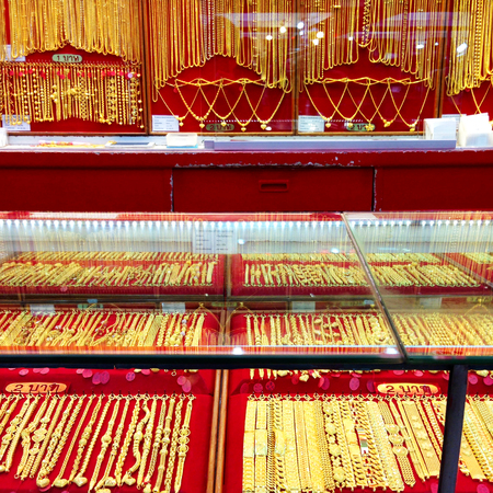 gold shop , gold jewellery store background