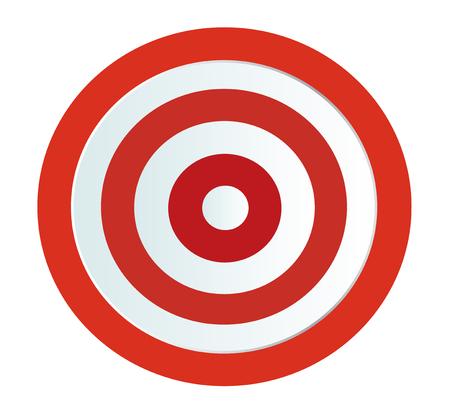 Ziel-Bogenschießen-Vektor Standard-Bild - 87856637