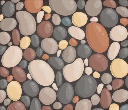 style moderne bouchent illustration vectorielle de fond de pierre ronde fond d'écran Vecteurs