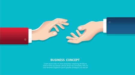 Hommes affaires, serrer main Vecteurs