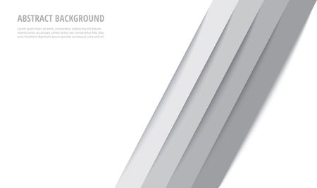 Abstract modern white lines