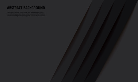 Abstract modern black lines