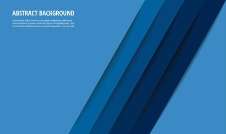 abstract modern blue lines background vector illustration EPS10
