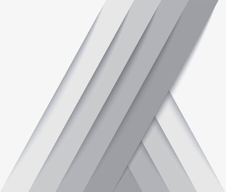 abstract modern white lines background vector illustration EPS10