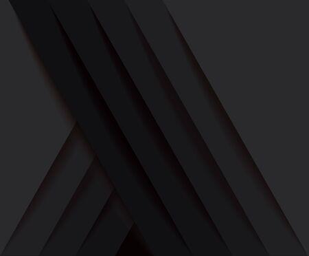 abstract modern black lines background vector illustration EPS10 版權商用圖片 - 131697879