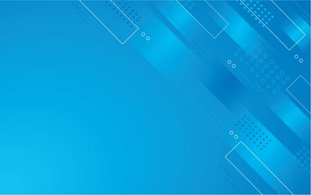 abstract blue color square background vector illustration EPS10