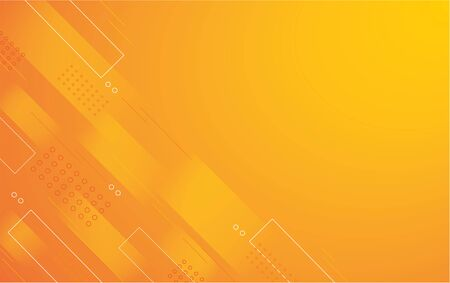 abstract orange color square background vector illustration EPS10