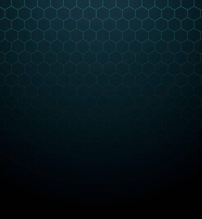 dark color hexagon background vector illustration EPS10