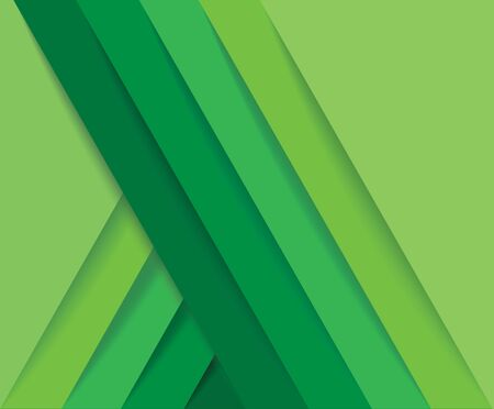 abstract modern green lines background vector illustration