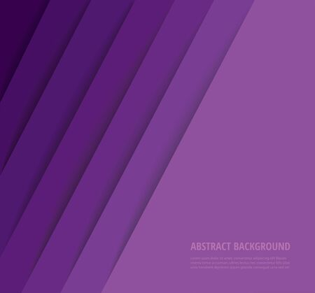 abstract modern purple lines background vector illustration EPS10