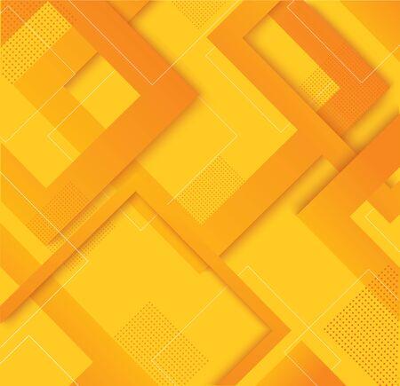 modern yellow square gradient trendy background vector illustration EPS10 Illustration