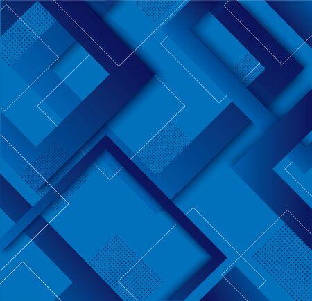 modern blue square gradient trendy background vector illustration EPS10 Иллюстрация