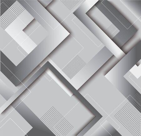 modern gray square gradient trendy background vector illustration EPS10 Иллюстрация
