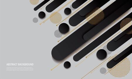 modern black gradient trendy background vector illustration