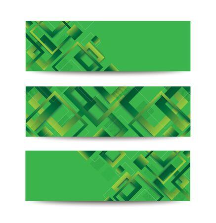 modern green square gradient trendy background vector illustration EPS10 Иллюстрация