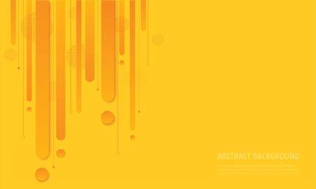 modern yellow gradient trendy background vector illustration