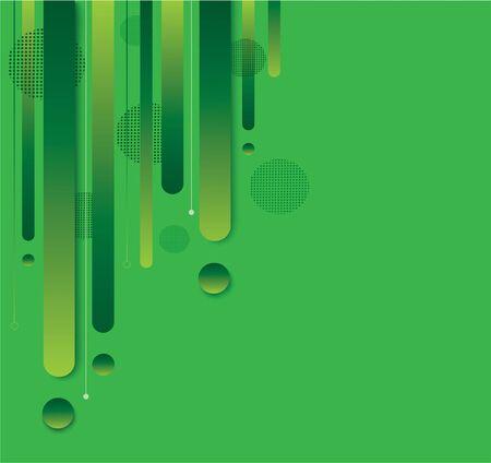 modern green gradient trendy background vector illustration
