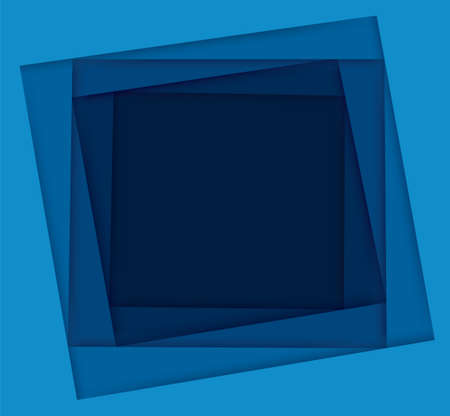 shades of blue square background vector illustration EPS10