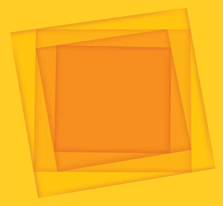 yellow shades square background vector illustration EPS10