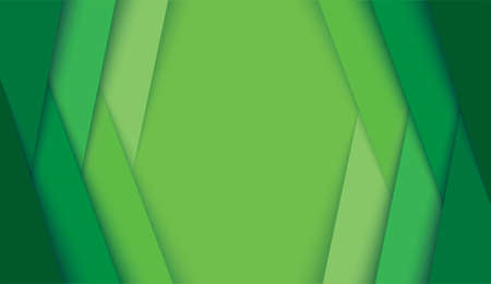 abstract modern green lines background vector illustration EPS10 矢量图像
