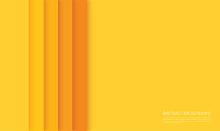 abstract modern yellow lines background vector illustration