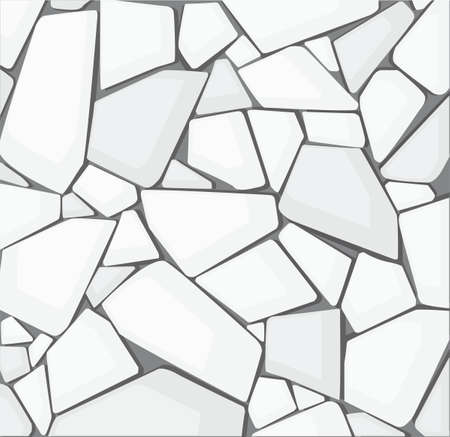 white gravel texture wallpaper. vector illustration
