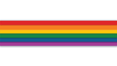 rainbow on a white background vector illustration Иллюстрация