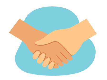 icon handshake,business handshake, partnership and agreement symbol