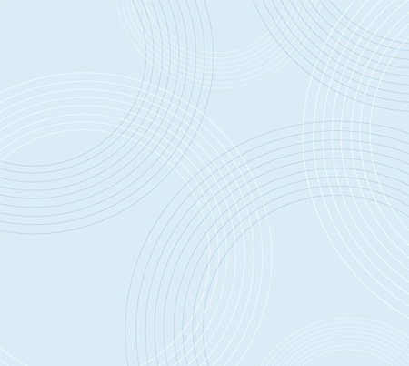 minimal blue circle background vector illustration