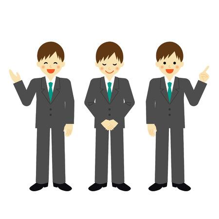 Businessman Illusztráció