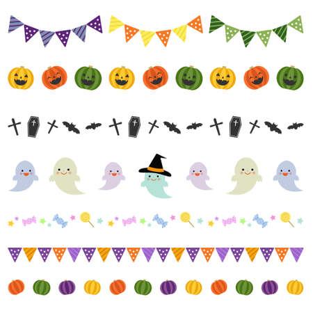bordi decorativi: Halloween decorative borders