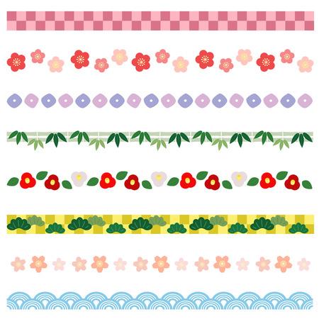 日本の新年の境界線