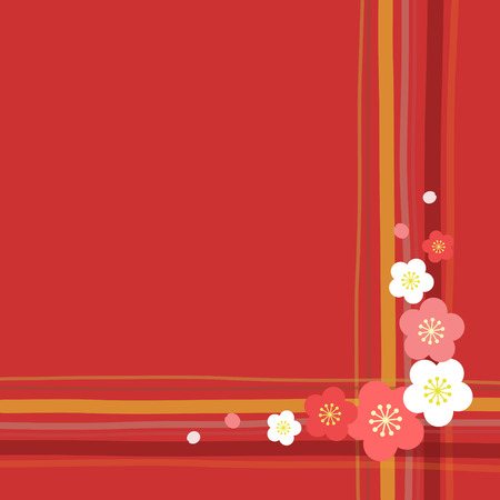 apricot: apricot flower background Illustration