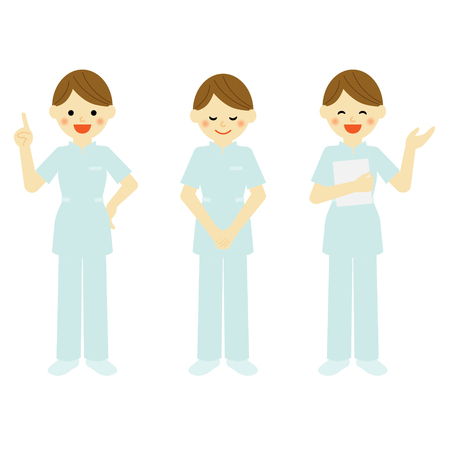 occupations: medical staff Illustration
