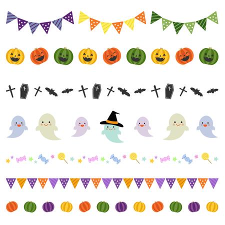 Halloween bordures décoratives