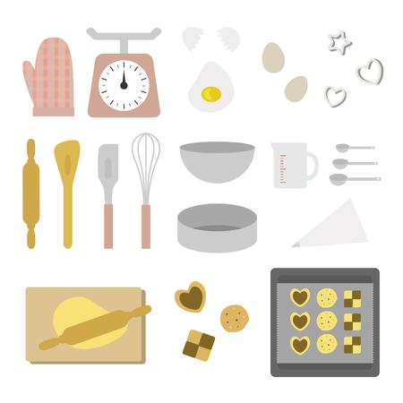 set of baking tool