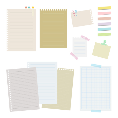 Collection of notebooks and papers.